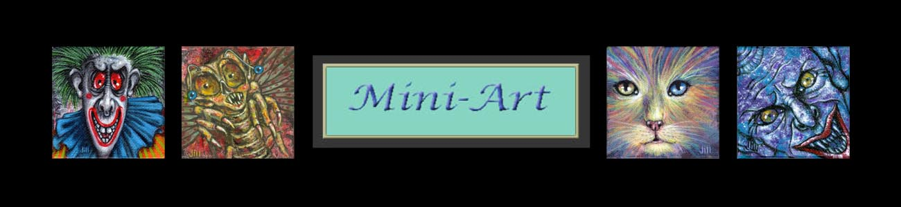 Jill Bauman — Art of the Mysterious & Fantastic — Mini-Art
